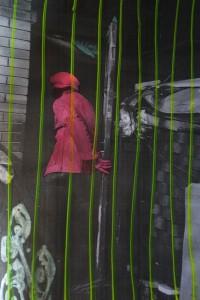 Cage (Back to China), photo, 30 x 40 cm, 2009, Brigitte Spiegeler