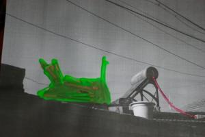 Snail (Back to China), c-print in liquid gloss , 30 x 40 cm, 2009, Brigitte Spiegeler