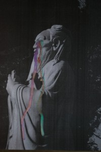 Tears of Confucius (Back to China), c-print in liquid gloss, 40 x 30 cm, 2009, Brigitte Spiegeler