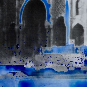 Byzantine Blue (Gracious), c-print in liquid gloss, 88 x 88 cm, 2012