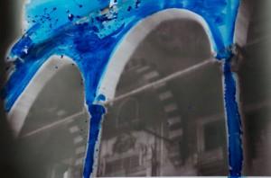 Byzantine Blue (M) c-print in liquid gloss, 30 x 40 cm, 2012, Eyup, Istanbul