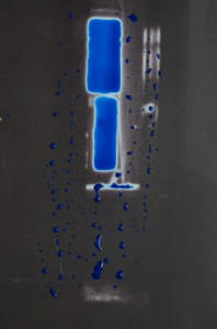 Byzantine Blue (Through the looking-glass), c-print in liquid gloss, 40 x 30 cm, 2012